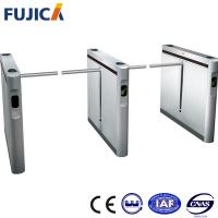 Wholesale SS304 Stainless Steel Drop Arm Turnstile Gate , Handicap Flap Tripod Turnstiles from china suppliers
