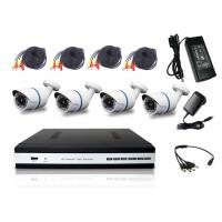Wholesale All In 1 HD DVR Kit Bullet Camera 1080P 4 Channel DVR Camera System P2P Cloud Service from china suppliers