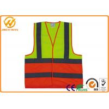 Buy cheap Polyester Safe Reflective Strap Vest, Adjustable Custom High Visibility Vests from wholesalers