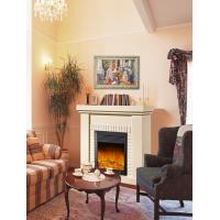 Wholesale European White Antique Imitation Marble Fireplace with Remote Control from china suppliers