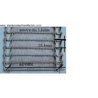 Wholesale SS304 Spiral Conveyor Belt, Wire Diameter: 1.6mm, 25cm Rod Pitch, 24Inch Wide from china suppliers