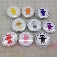 Wholesale Round PVC Adhesive Sticker Coloured Circle Stickers With Full Color Printed from china suppliers