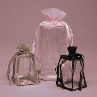 Wholesale Personalised Organza PVC Drawstring Bag , Clear PVC Cosmetic Bag from china suppliers