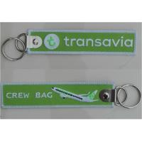 Wholesale Transavia Crew Bag Aviation Pilot Embroidered High Quality Keychain from china suppliers