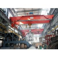 Buy cheap 500T Casting Electric Double Girder Overhead Crane , Industrial Heavy Duty Bridge Crane from wholesalers