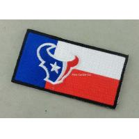 Wholesale Heat Cut Custom Embroidery Patches with Hot Melt Adhesive 8 - 100 mm Size from china suppliers