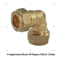 Wholesale compression fitting elbow 15mm for copper pipe from china suppliers