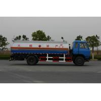 Wholesale Professional Oil Tank Truck Dongfeng 12600L 4x2 , 150 - 250hp Tanker Logistics from china suppliers