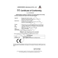 Zilun Pro Lighting Technology Co.,Limited Certifications