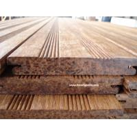 Wholesale Carbonized Eco Friendly Bamboo Decking , Easy Installation from china suppliers