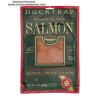 Wholesale Nylon / PE Laminated Customize Printing Vacuum Packaging Bags for Premium Smoked Salmon Packaging from china suppliers