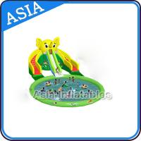 Wholesale Theme Inflatable Water Park Slides , Elephant Water Slide , Outdoor Playground Water Park from china suppliers