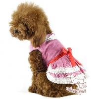 Quality Manufacture dog skirt, color spot, 5 colors at choice for sale