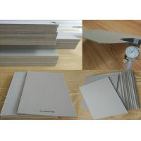 Wholesale Material Mixed Paper Pulp Book Binding Board , Uncoated Grey Board Sheets from china suppliers