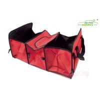 Wholesale 3 Compartments 600D Oxford Foldable back of seat car organizer 60 x 31 x 28 cm from china suppliers