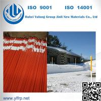 "Wholesale Roadways Marker Orange Green 3/8"" or 5/16"" 4ft long Fiberglass Snow Stakes from china suppliers"