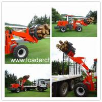 Quality 2T front loader ZL20F with log grapple for sale