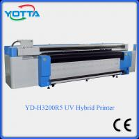 Wholesale uv led hybrid printer for both roll to roll and flat material wallpaper fabric from china suppliers