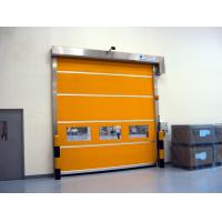 Wholesale Industrial PVC High Speed Shutter Door Interior 304 Stainless Steel Frame from china suppliers