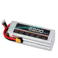 Wholesale 30C 5200mAh RC Battery for Large fixed-wing, helicopter, four-axis multi-rotor, car models, electric motor within 120A from china suppliers