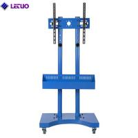 Wholesale TC64AB Mobile TV Cart Mount Stand for 32 to 65 Inch LED LCD Plasma Flat Screen Panels with Storage Shelves on Wheels from china suppliers