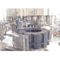 Wholesale Precision Carbonated Drinks Filling Machine / Soda Bottling Equipment from china suppliers
