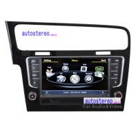 Wholesale Car Multimedia for VW Golf 7 GPS Navigation Stereo Satnav AutoRadio Headunit DVD Car Stereo DVD Player from china suppliers