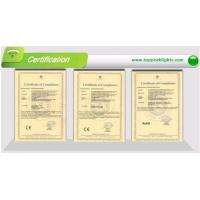 Top Peak Electronics Co.,LTD Certifications