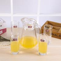 Wholesale Longwei Family Water Jug And Glass Set , Glass Juice Jug With Lid 1300 ML from china suppliers