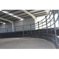 Wholesale 30X60mm Oval Pipe Cattle Livestock Yard Panel from china suppliers