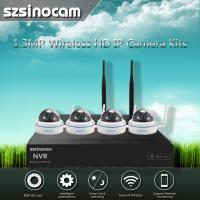 Wholesale 2.4GHZ Full WIFI Security Camera Kit Home Cctv Kit Network Outdoor from china suppliers