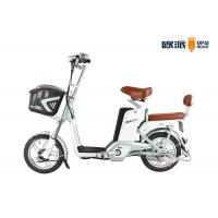Wholesale LED Headlight Electric City Bike , 48V Double Seat Electric Scooter from china suppliers