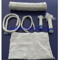 Wholesale Boiler Insulation Ceramic Fiber Refractory Textiles Oil / Water Vapor Resistent from china suppliers