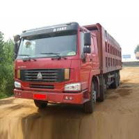Wholesale 30 - 40 Tons SINOTRUK Heavy Duty Dump Truck 371HP 8X4 For Loading Construction Material from china suppliers