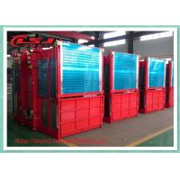 Wholesale Dobule Cabin Rack And Pinion Hoist For Power Plants / Bridges Building from china suppliers