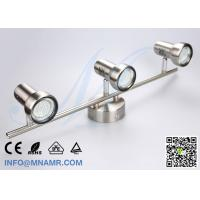 Buy cheap 3 Outlets Spot Light Ceiling Bar Light Chrome Come With AC220V 3X5W GU10 LED Lamp from wholesalers