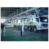 Wholesale 42m boom Concrete Pump Vehicle with HOWO Chassis and Pipe-valve from china suppliers