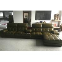 Wholesale A848;  L shape genuine leather sofa, modern home furniture,office furniture, living room furniture, China sofa from china suppliers