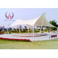 Wholesale Modern Deck Sun Shade Cable And Membrane Tensile Structures 10 Years Warranty from china suppliers