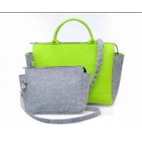 Wholesale good quality felt women Eco-friendly polyester 3mm thickness Handbags from china suppliers