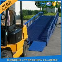 Wholesale Warehouse Hydraulic Container Loading Ramps 0.9m - 1.8m Lifting Height CE ISO9001 SGS from china suppliers