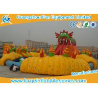Wholesale Durable Large Inflatable Games / Inflatable Water Slide With Huge Pool Park For Amusement Park Games from china suppliers
