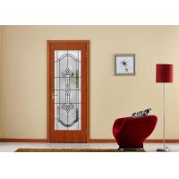 Wholesale Arctic Patterned Window Door Suit Decorative Frosted Glass Brass / Nickel / Patina Available from china suppliers