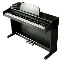 Wholesale Electronic Polished black 88 key Digital Piano With Melamine Shell from china suppliers