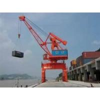 Wholesale 103 KW 72 t 6 - 14 m portal boom Bench PLC control gantry Crane specification from china suppliers