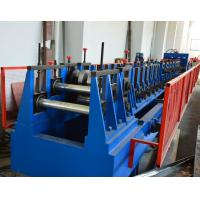 Wholesale Automatic Adjustment CZ Purlin Roll Forming Machine With Hole , Chain Drive Pre Cutting from china suppliers
