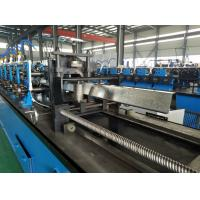 Wholesale High Speed Hat Omega Purlin Angle Roll Forming Machine 10.6-2.0mm By Chain from china suppliers