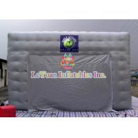 Wholesale Logo Movable Inflatable Army / Lawn Tent With Silk - Screen Printing from china suppliers