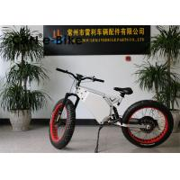 Wholesale High Speed Electric Mountain Bikes With Fat Tires , Fat Tire Electric Beach Cruiser from china suppliers