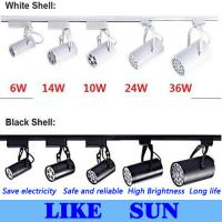 Wholesale FREE SHIPPING Cool white Led Track Light 14W 120 Beam angle Led Ceiling Spotlight AC 85-265V led spot lighting + CE from china suppliers